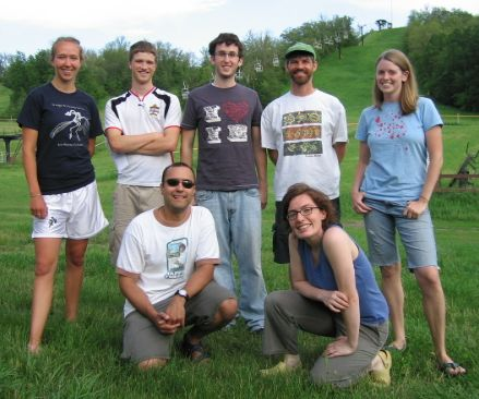 The crew from summer 2007