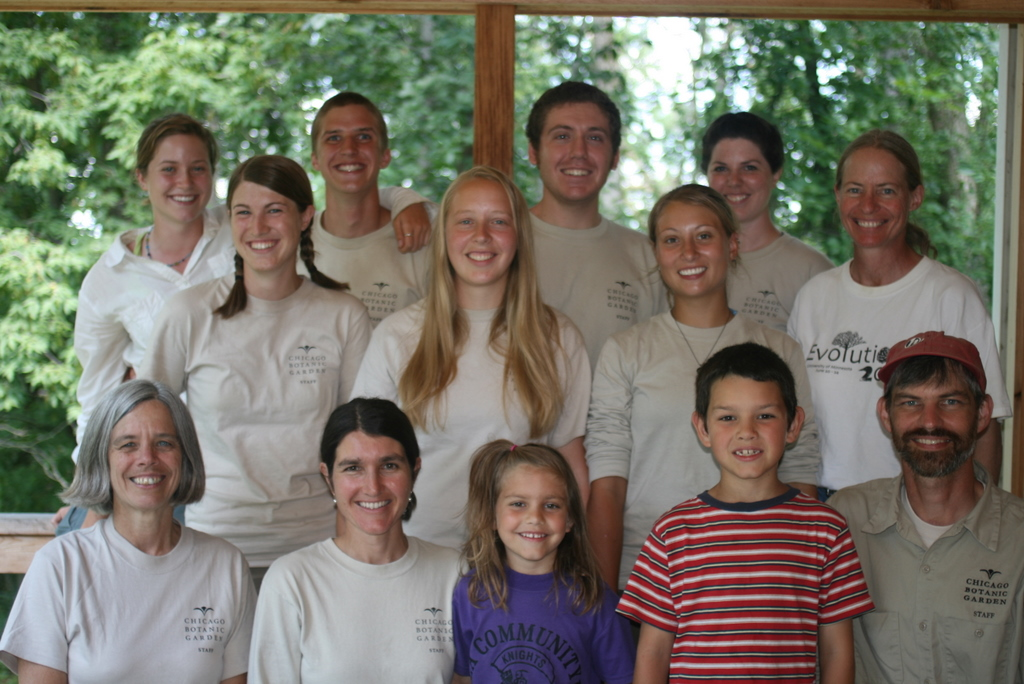 The crew from summer 2010