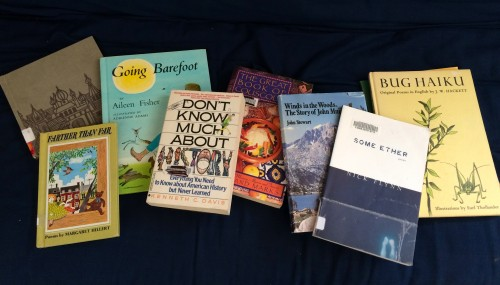 Some treasures picked up at the Flekkefest used book sale