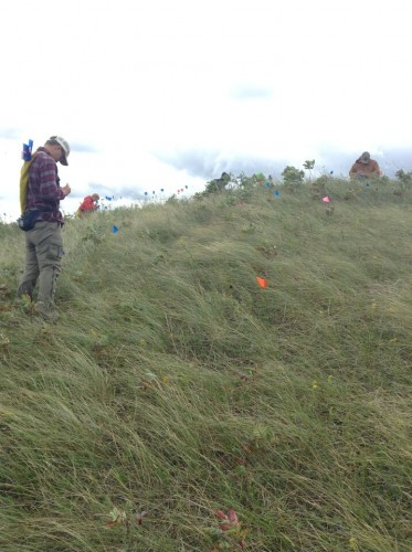 Ben works in windy conditions at ON27.