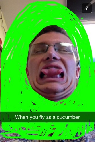 We miss Ben, but we like him as a cucumber too